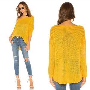 Lovers+Friends marigold knit sweater